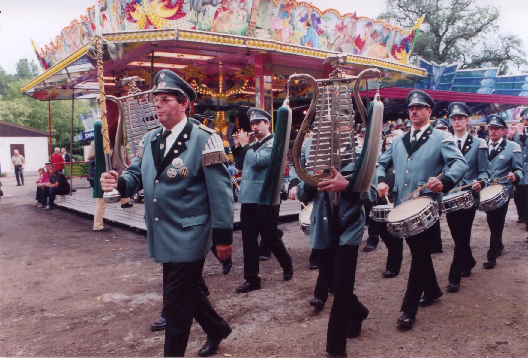 Aufnahme vom Schützenfest 2006